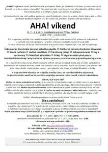 AHA 31.7.-2.8. 1.strana